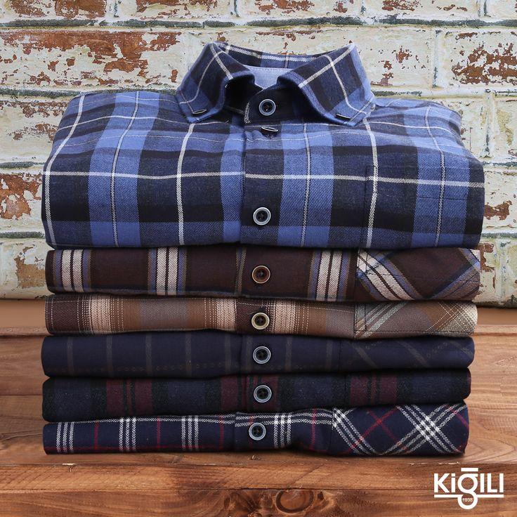 Sezonun yükselen trendi flanel gömlekler, sevdiğinizi mutlu edecek hediye fikrine dönüşüyor. ❤️🎁