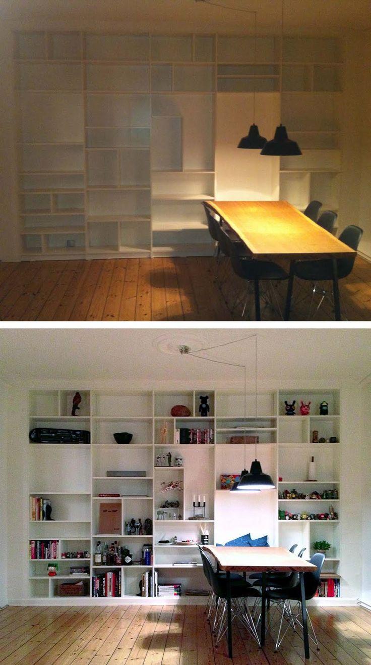 IKEA Hackers: Full BILLY wall