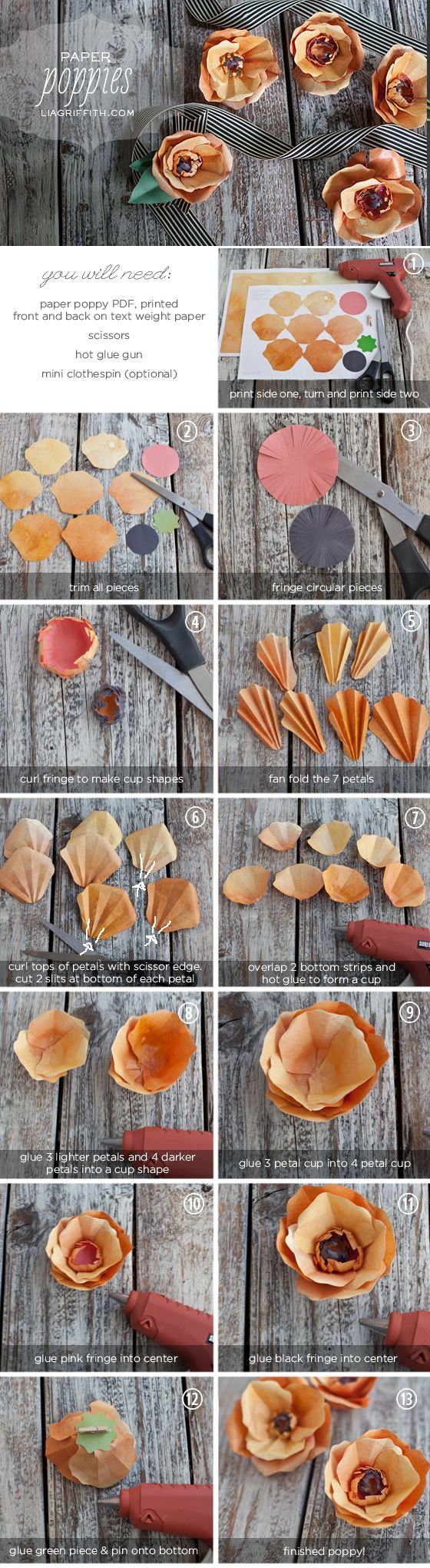 Make Some Paper Poppies