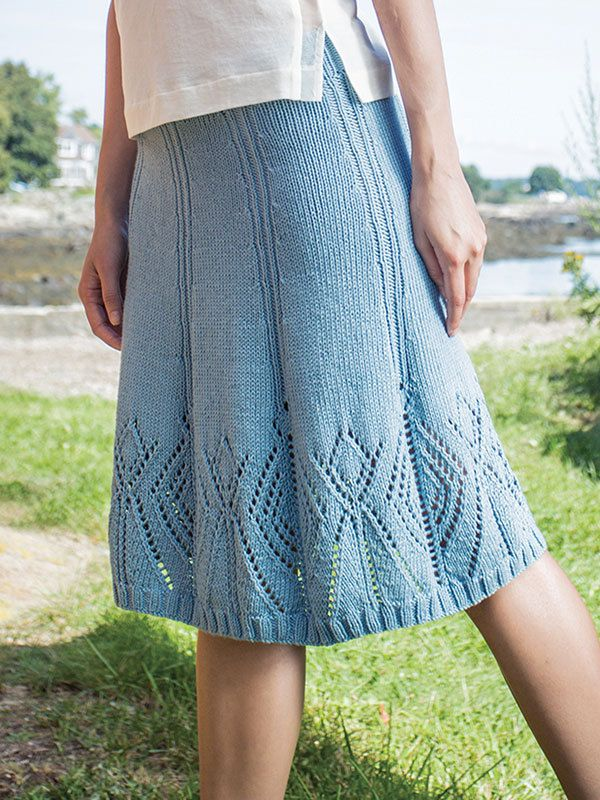 Knit Skirt Pattern : 17 Best ideas about Skirt Knitting Pattern on Pinterest ...