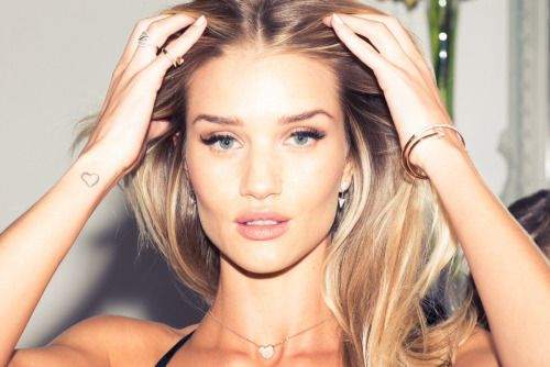 """bomshells: Rosie Huntington-Whiteley shooting for """"Rosie for Autograph"""" with The Coveteur, 2014."""