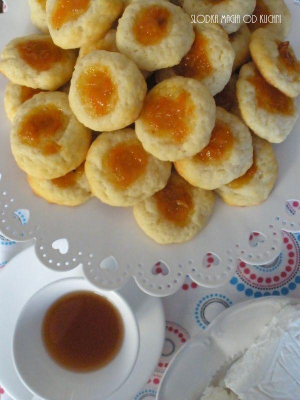 Leniwe serowe ciasteczka