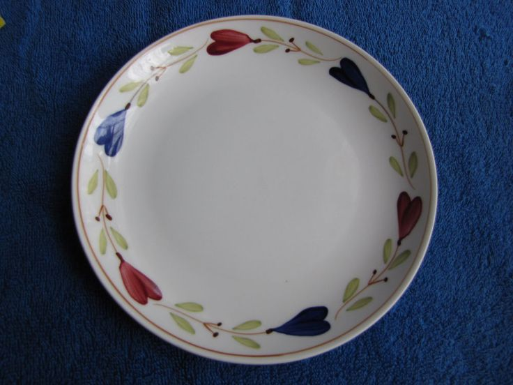 Antique Sweden Gustavsberg Stig Lindberg Ranka plate handmade pottery #Gustavsberg #StigLindberg