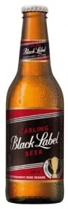 Carling Black Label - South African beer