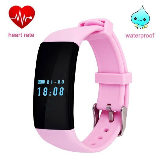Amazon.com: DFyou Heart Rate Fitness Smart Watch Bluetooth Waterproof Wrist Band for Men (DFit-Black): Cell Phones & Accessories