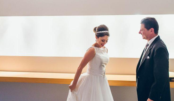 Tipos de tecido para vestido de noiva: Cetim