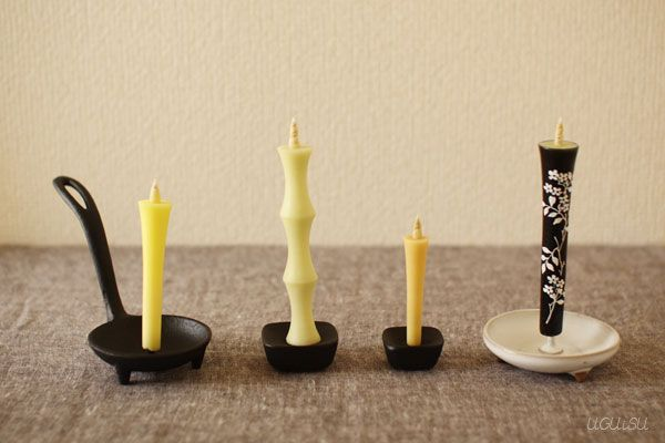 +UGUiSU Blog: JAPANESE TRADITIONAL CANDLES: WA-ROUSOKU
