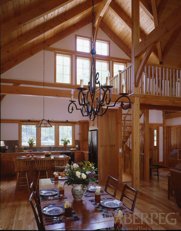 Timberpeg Timber Frame | Little Lake Sunapee, NH (4797) | Post and Beam Homes