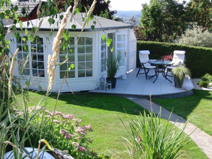 Garten terrasse  48 best Gartentrend grau-weiß images on Pinterest | Gray, Decks ...