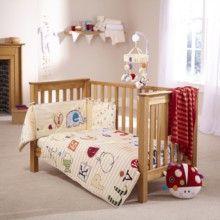 ABC Cot/Cot Bed Quilt & Bumper Set