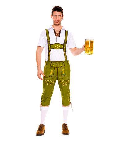 This Green Lederhosen Costume Set - Men's Regular is perfect! #zulilyfinds