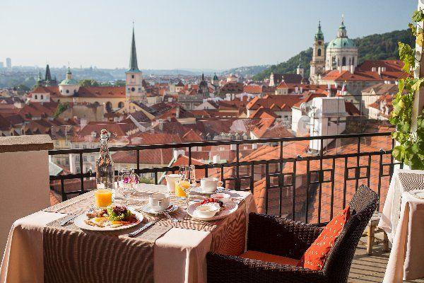 THE GOLDEN WELL luxury boutique hotel in Mala Strana, Prague