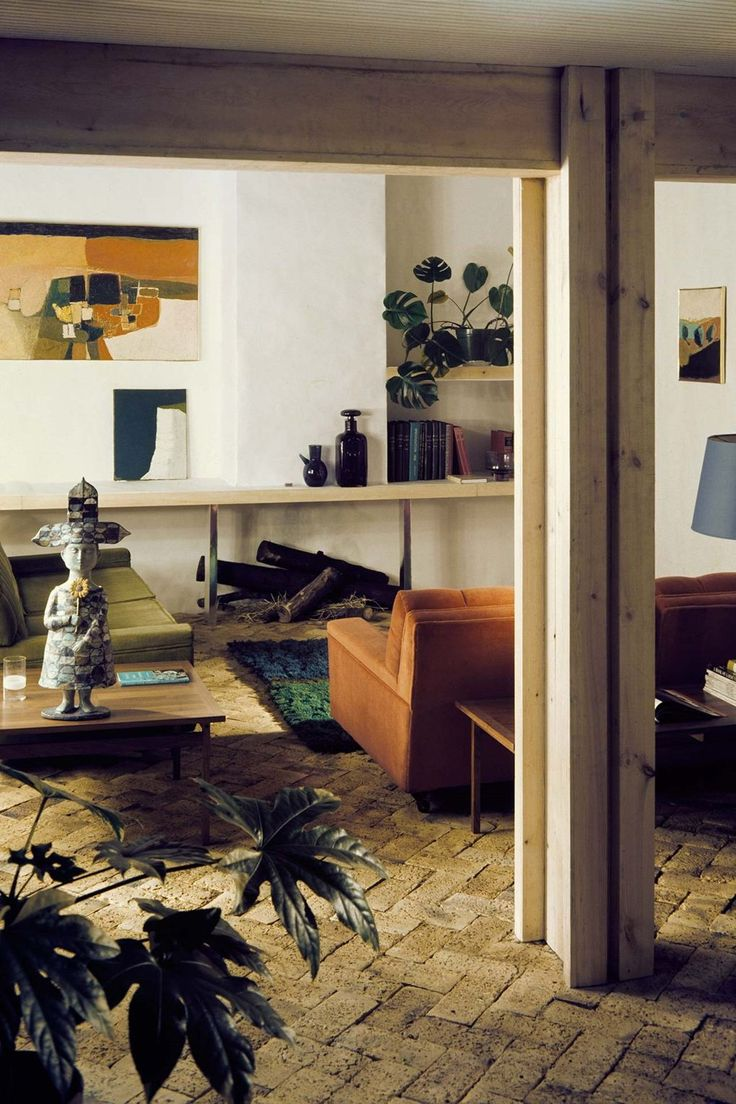 12 Sixties living rooms