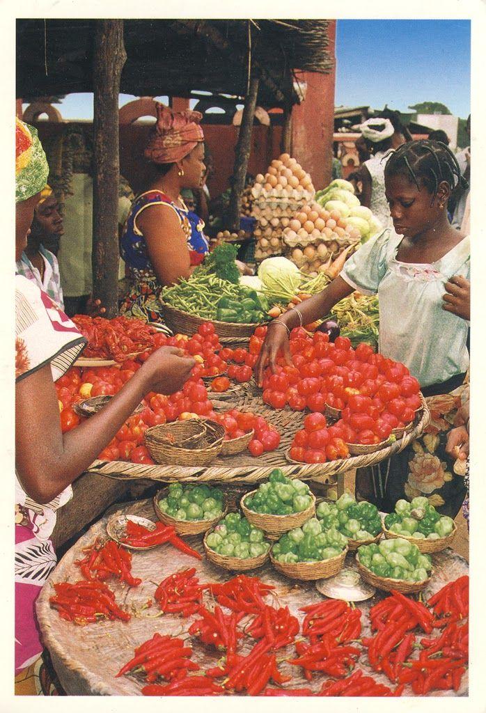 World on Postcards: Benin