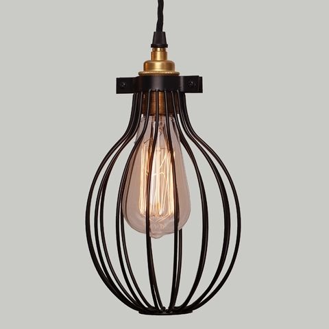 Lampa Cage Round