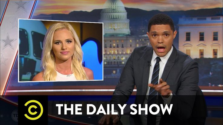 """""""Wow! The least woke most awake person...""""The Daily Show - Tomi Lahren's Anger Lights Facebook on Fire"""