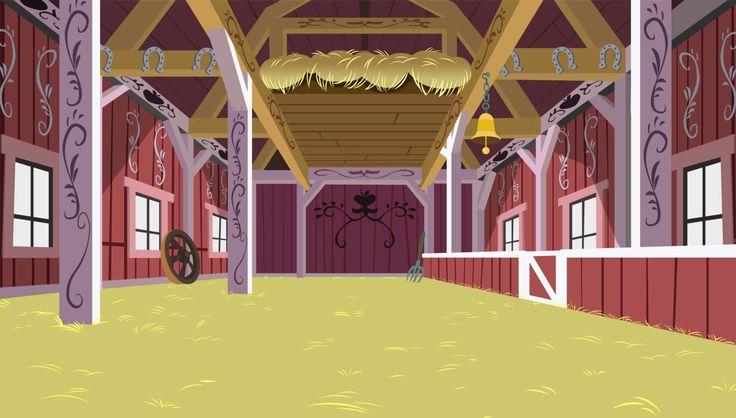 Barn Inside 381129...