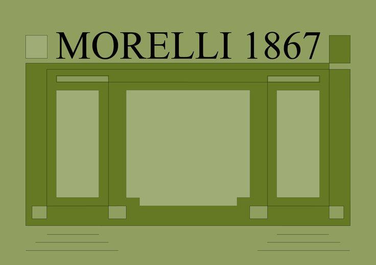 Libreria Morelli 1867 Dolo (VE) - nuova gestione 2015 - grafica di Oreste Sabadin