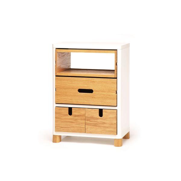 Kommode Aus Holz Und Weissem Rahmen Fur Die Kuche Esszimmer Wohnzimmer Oder Flur