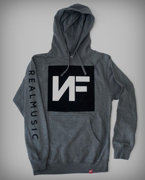 Grey Hoodie I want this so bad