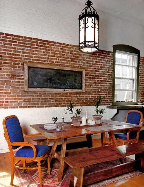 20+ Best Pictures Dining Room Wall Decor Ideas & Designs - Dining Room Wall Decor Ideas WithChalkboard Concept