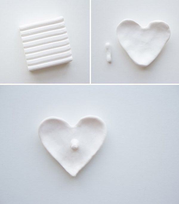 DIY heart ring holder | Lovely Indeed