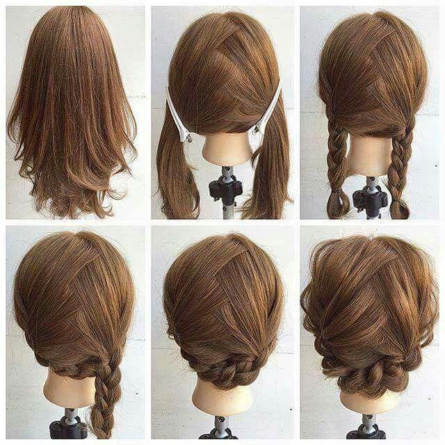 •Penteado •Trança