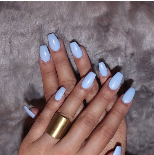 Short Coffin Nails Nails Pinterest Powder Shorts And Nice