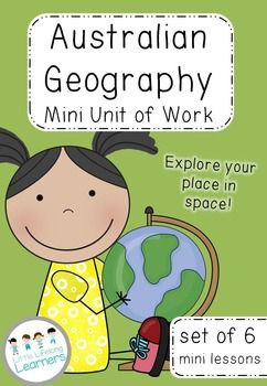 This Australian Geography Unit teaches the concept of My Place in Space. Over 6 mini lessons, your students will explore where their school is in terms of their street/road, suburb, state, country and planet. Perfect for Prep, Foundation and Year 1.