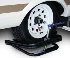 BAL - Tire Leveler--- eliminates need to move trailer onto blocks or ramps to level