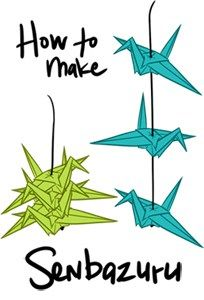 So! As requested, here is a quick little tutorial on how to make Senbazuru, aka hanging origami cranes. A little info from wikipedia on Senbazuru: 千羽鶴, Senbazuru is a group of one thousand origami …