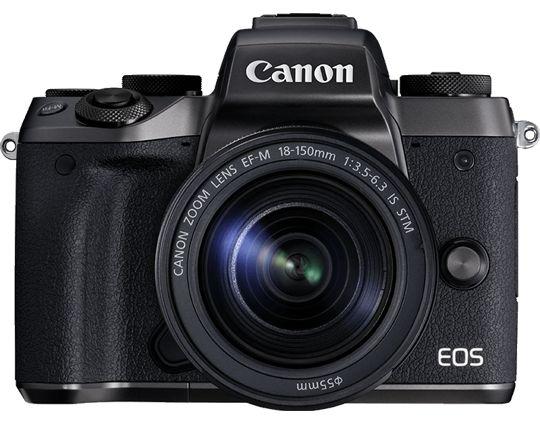 Appareil photo hybride phare de Canon, le CanonEOSM5 réunit le meilleur des appareils compacts et des reflex Canon pour proposer des performances élevées et parfaitement équilibrées dans un boîtier compact.