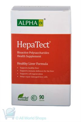 Hepa-Tect - Liver Support Formula - Alpha - 90 Capsules | Shop New Zealand NZ$105