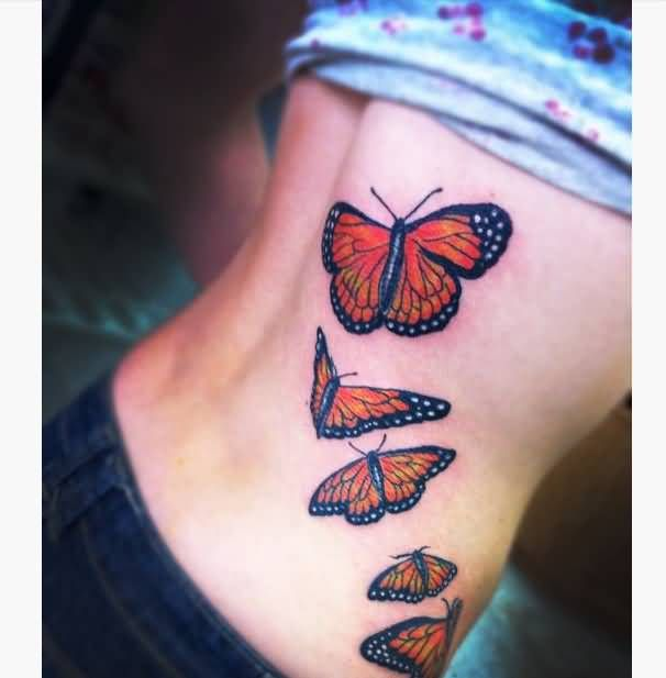 25 Great Ideas About Realistic Butterfly Tattoo On: 25+ Best Ideas About 3d Butterfly Tattoo On Pinterest