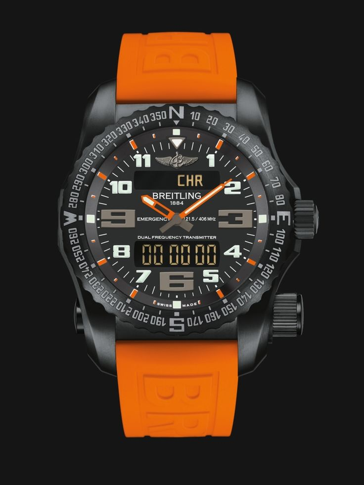 New - Breitling Emergency - Swiss watch with personal locator beacon