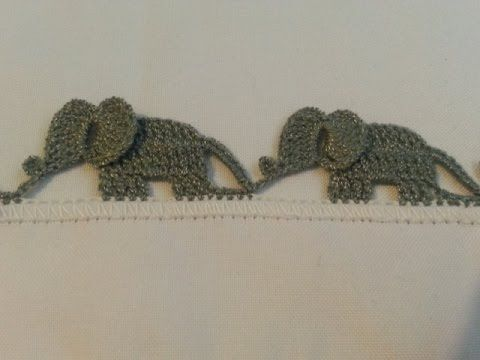 Crochet Elephant Edging with Video Tutorial | Styles Idea