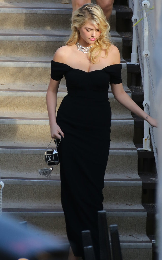 Kate Upton wore Dolce & Gabbana at the premiere of On the Road in Cannes.