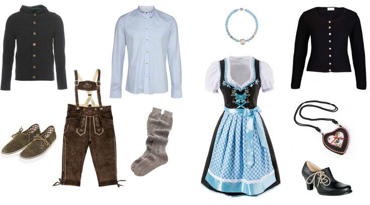 Oktoberfest-Outfits für IHN und SIE - erstellt mit collageAd