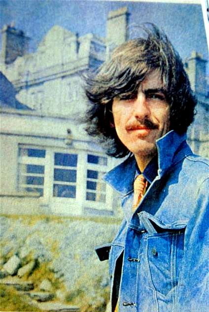 George Harrison. Looking like Russell Hammond from Almost Famous