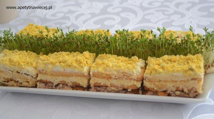 Sałatka - ciasto