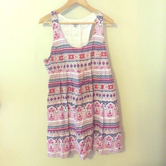 Mavi race back cotton dress Cotton summer dress by Mavi size Large, side zip racer back Mavi Dresses Strapless