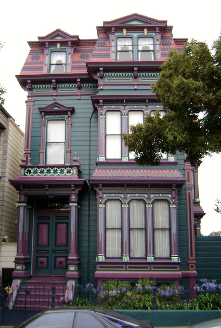 1000 images about victorian architecture on pinterest for San francisco victorian houses