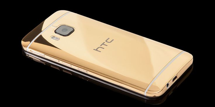 Goldgenie's 24K gold-plated HTC One M9 costs a whopping $2,560