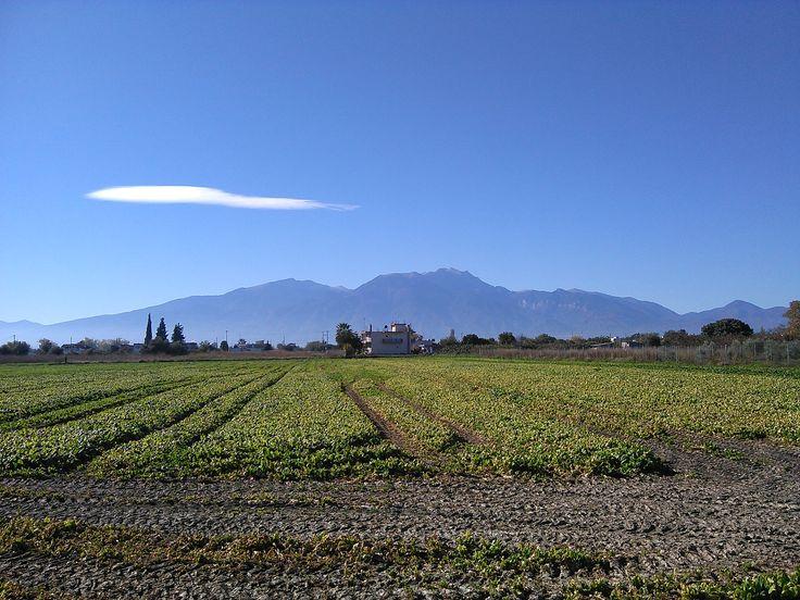 Mount Olympus (Mont Olympe), Northern Greece - Nov. 9, 2015 - Peristasi, Pieria