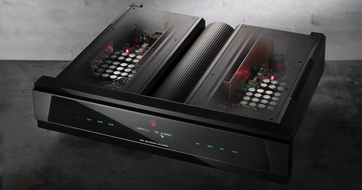 Gryphon Kaliope : world's highest performance Sabre32 Reference DAC with ESS SABRE ES9018 32-bit D/A converter (for each channel)! And build like a tank.
