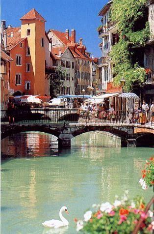 .Annecy, la Venise savoyarde en Haute-Savoie !
