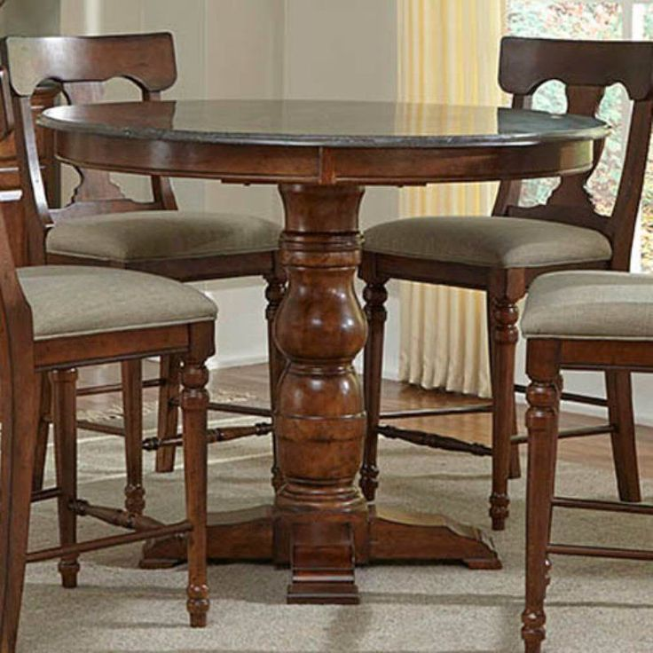 A-America Andover Round Dining/Counter Height Dining Table - AAME186