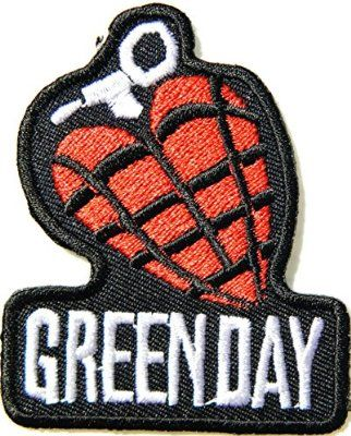 GREEN DAY American Idiot Rock Heavy Metal Punk Music Band Logo Patch Sew Iron on Embroidered Badge Sign T shirt Jacket Costume Gift