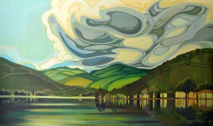 emerald lake  | Erica Hawkes | The Artym Gallery