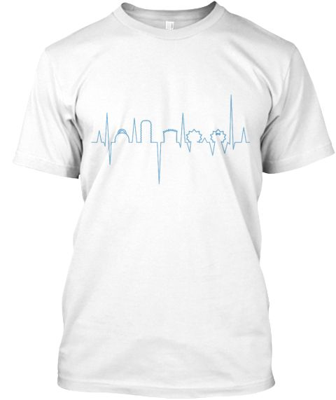 Lifeline Heartbeat (Blue)  Enjoy this t-shirt of The Simpsons lifeline heartbeat! Show off your appreciation of the iconic TV shows. Especially those supper FAN!!!